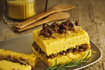 Ricette light: il tortino di polenta e verdure