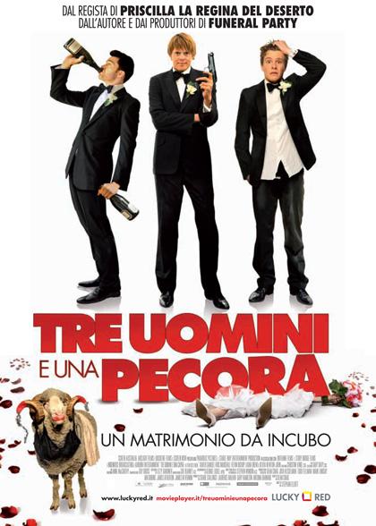 Film in uscita al cinema per San Valentino 2012, 'Tre uomini e una pecora'