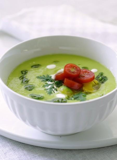 La ricetta light della vellutata di spinaci