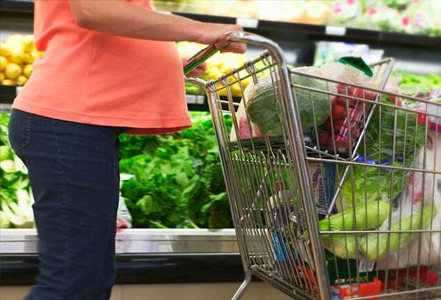 Alimentazione gravidanza spesa
