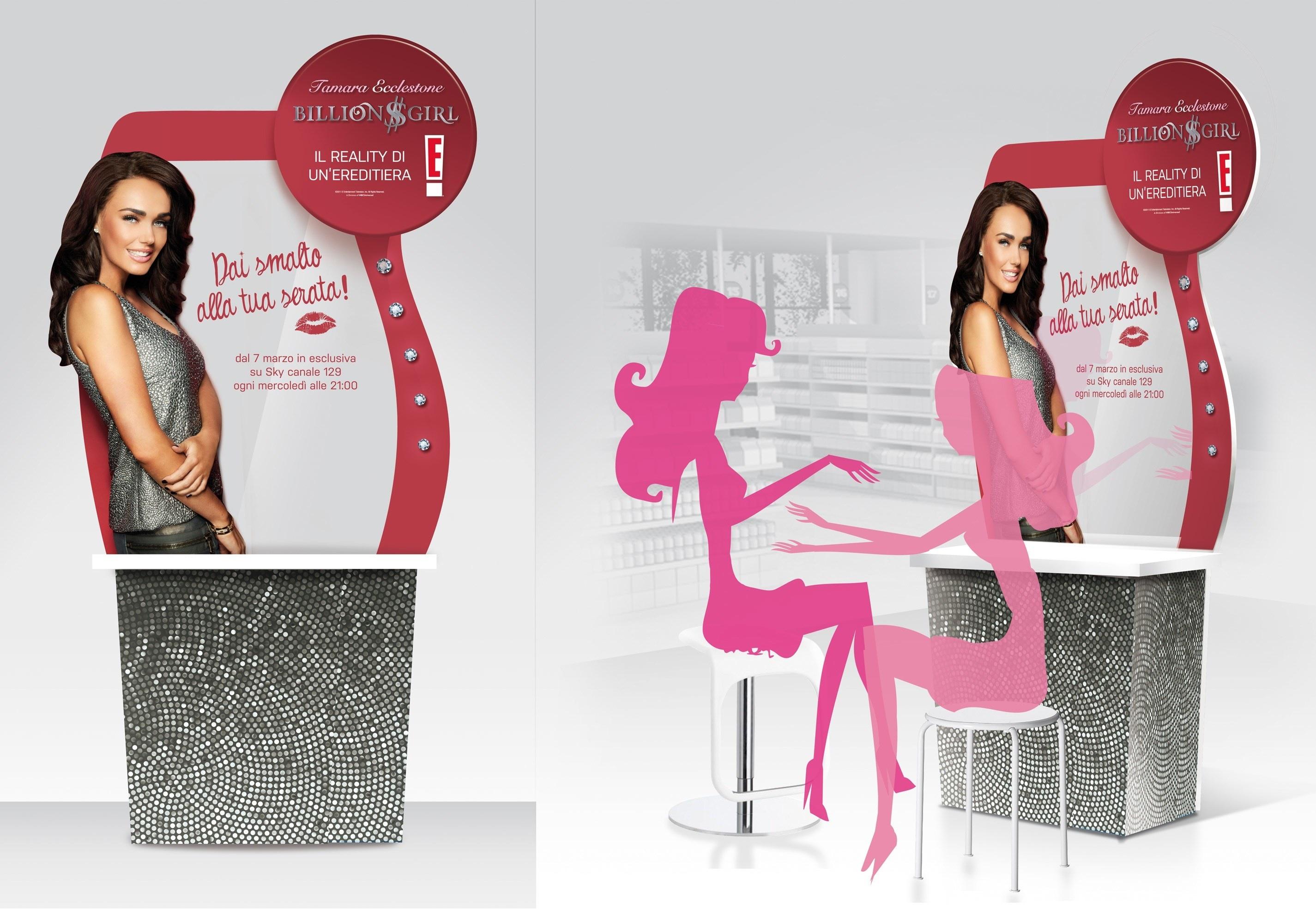 Manicure da ereditiera, l'idea di Essence per il lancio del reality show di Tamara Ecclestone