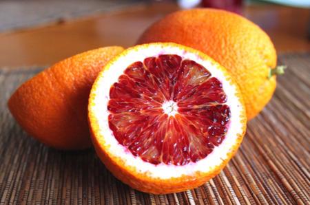 Frutta salute arance rosse