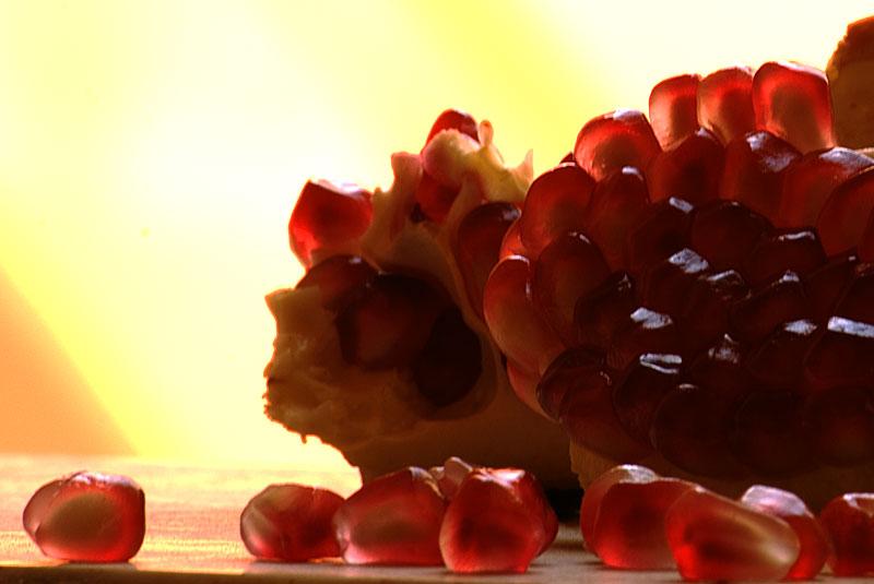 Frutta salute melagrana