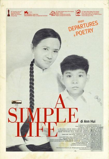 Film in uscita al cinema, 'A Simple Life' nelle sale l'8 marzo 2012