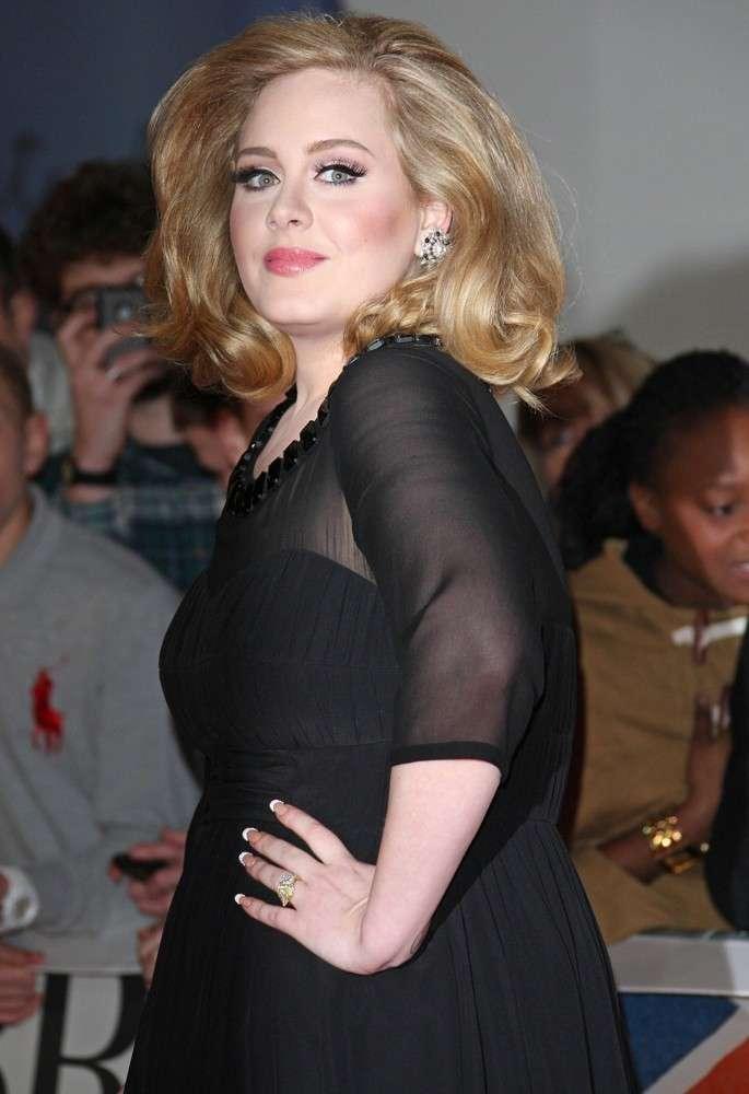 Adele ai Brits Awards 2012