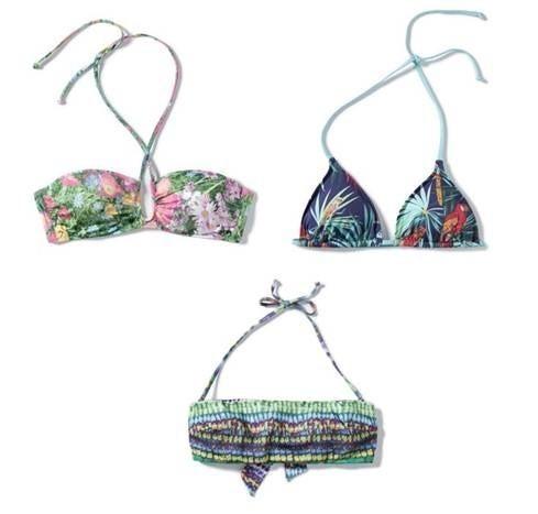Costumi da bagno zara la collezione beachwear estate 2012 foto pourfemme - Costumi da bagno zara ...