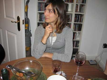 donne a cena a casa