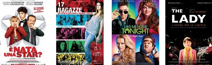 Tutti i film in uscita al cinema, weekend del 23 marzo 2012