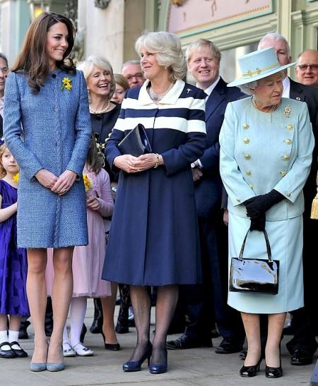 Kate Middleton elegante con un cappotto M Missoni