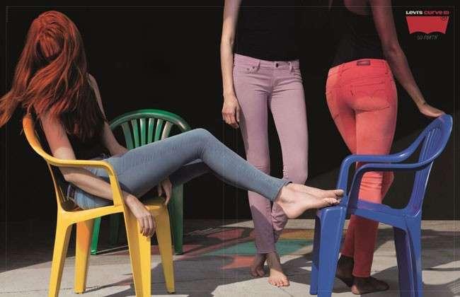 Levi's Curve ID, campagna pubblicitaria e sponsor per Noemi [FOTO]