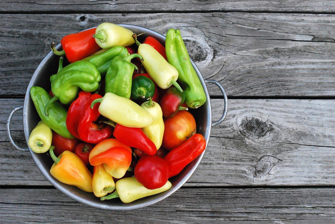 minestrone di peperoni ricette