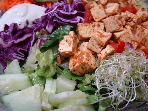 La ricetta light vegana del tofu con salsa agrodolce