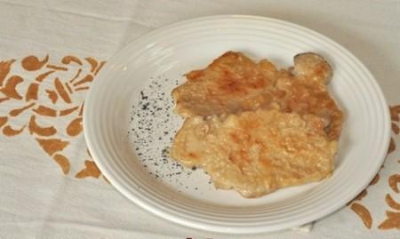 scaloppine rosa ricetta
