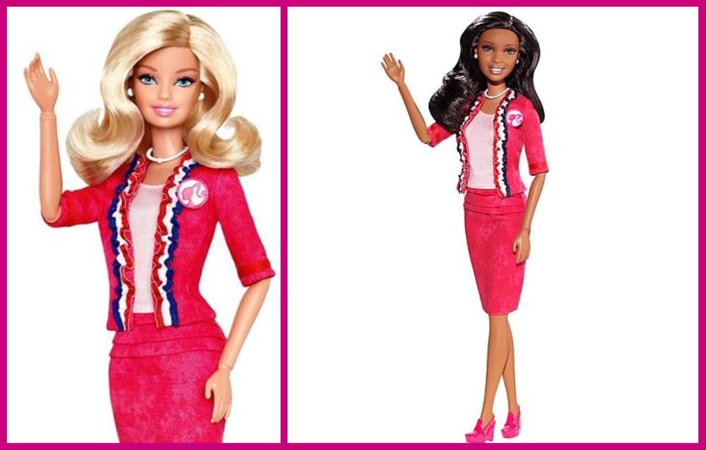 Barbie candidata Casa Bianca