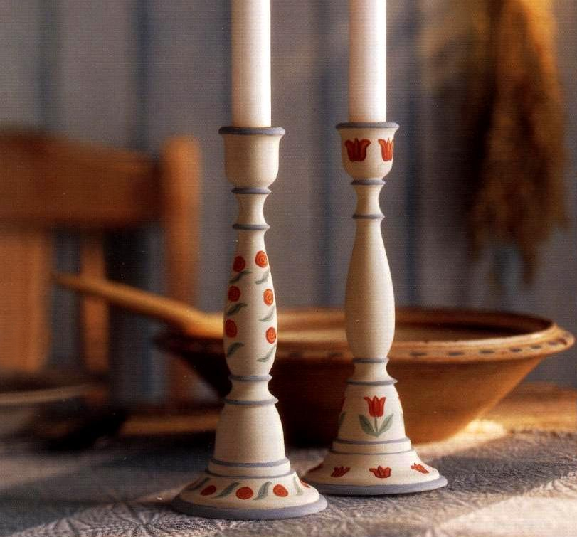 Candelabri Fai Da Te.Dipingi Dei Candelieri Con Eleganti Decorazioni Fai Da Te Pourfemme