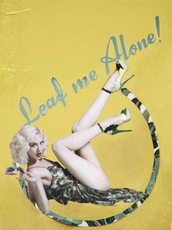 Charlotte Olympia adv pe 2012 leaf me alone