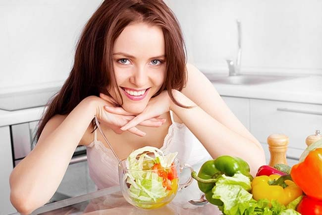 Frutta e verdura dopo abbuffate Pasqua