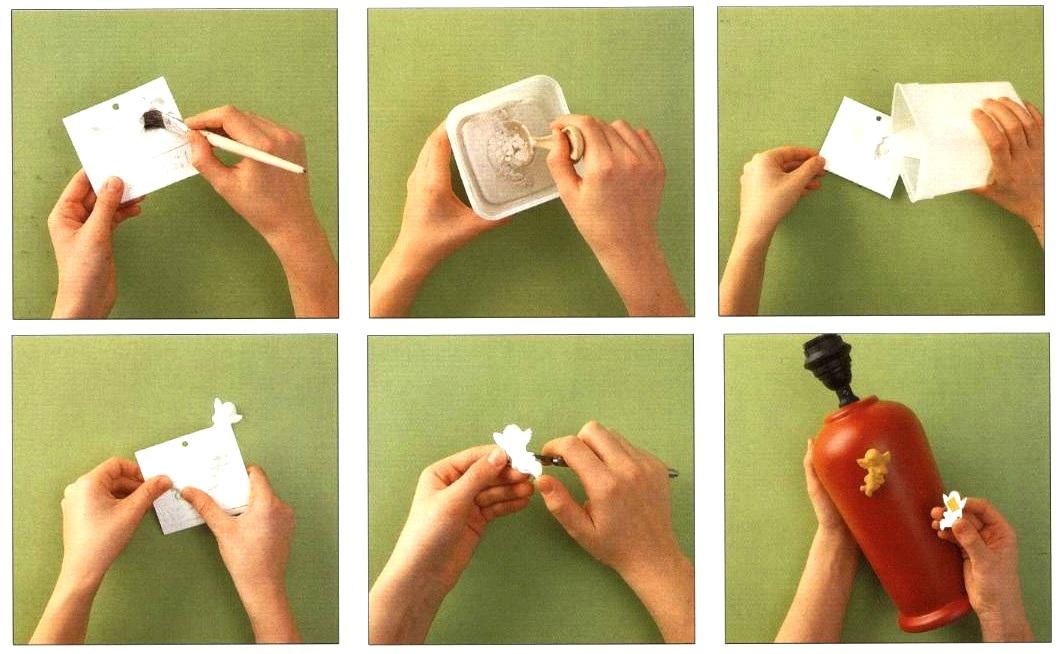Istruzioni preparazione angioletti in gesso