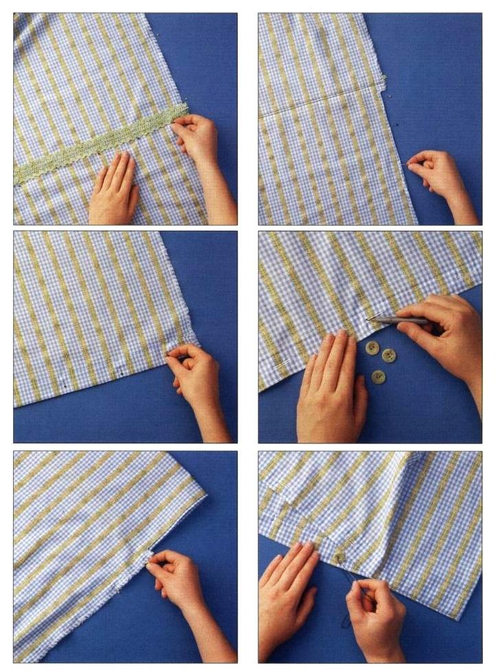 Istruzioni preparazione copriletto cucito