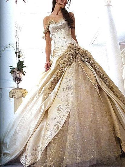 Pnina Tornai abito sposa rose