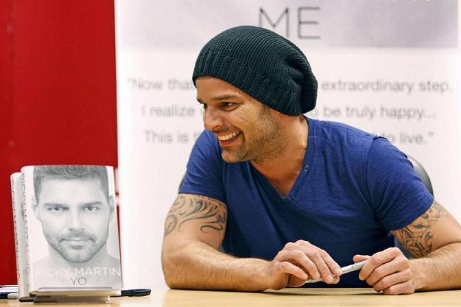 Ricky Martin omosessuale dichiarato