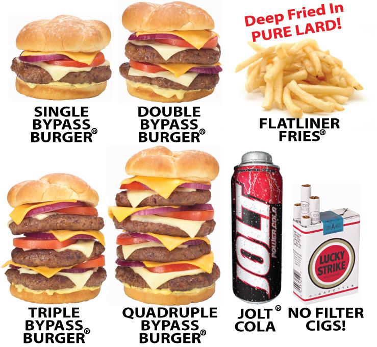 bypass burger calorie