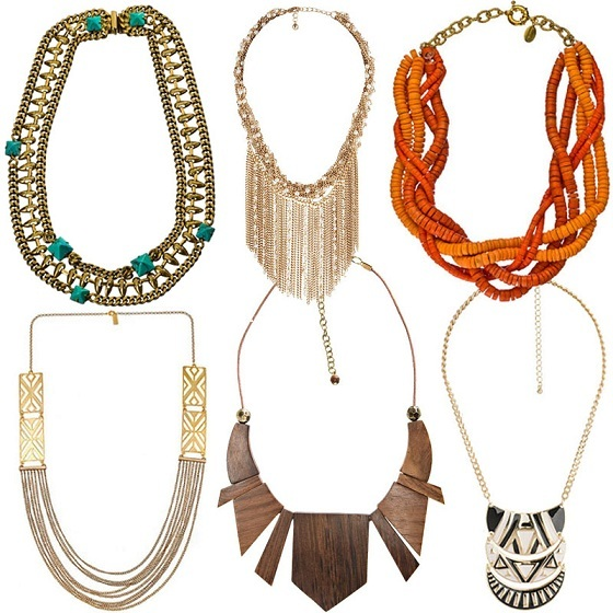 collane tribal 2012 modelli
