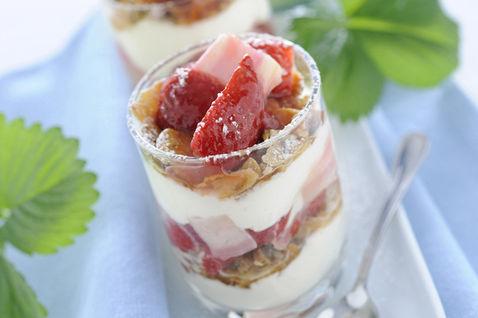 coppa fragole yogurt
