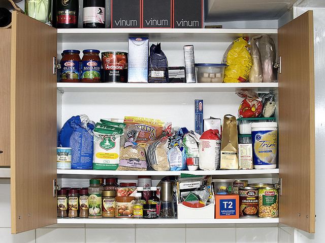 cucina in ordine