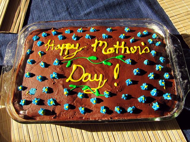 festa della mamma torta