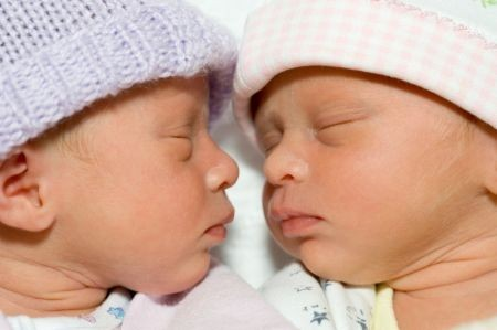 gravidanza gemellare record