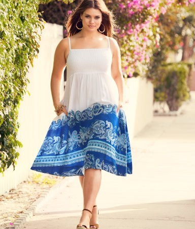 H&M Plus, la linea curvy per la Primavera/Estate 2012 indossata da Tara Lynn [FOTO]