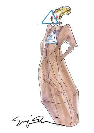 Armani veste Lady Gaga per il suo nuovo tour [FOTO]