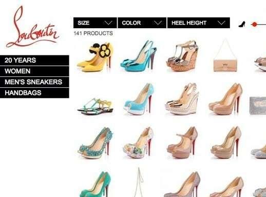 Louboutin shop online Italia
