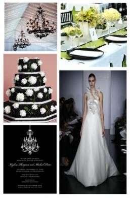 Come organizzare un matrimonio in bianco e nero tante idee chic