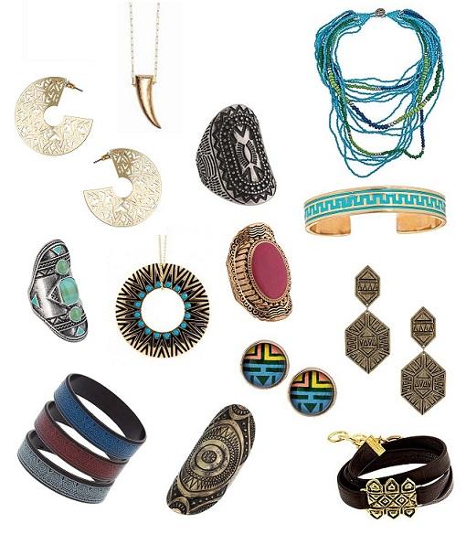 stile tribale 2012 bijoux
