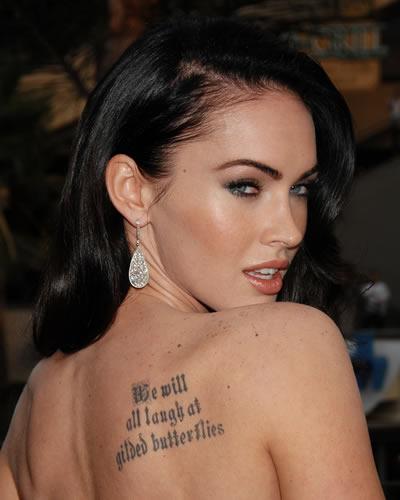 tatuaggi farfalle vip
