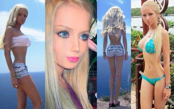 Una vera e propria Barbie Umana