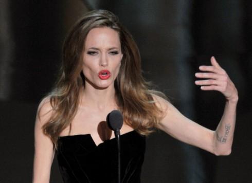 Angelina Jolie magra oscar 2011
