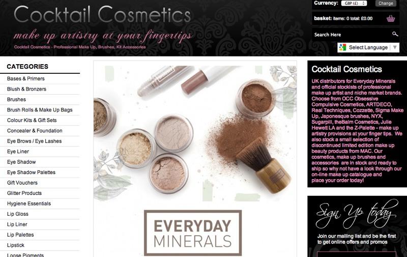 Beauty shop on line