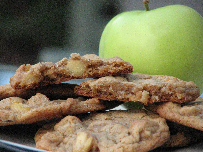 Colazione biscotti alle mele