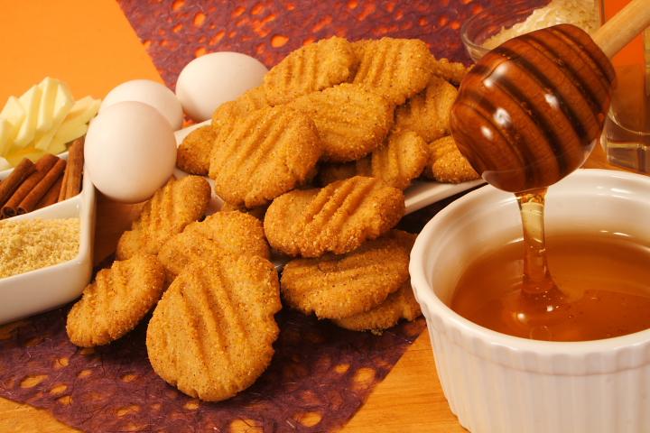Colazione biscotti integrali miele