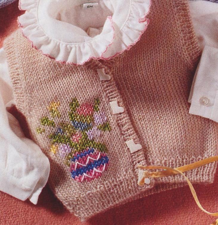 Crea un gilet per neonato con i nostri lavori a maglia