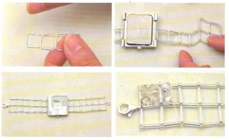 Istruzioni realizzazione orologio cristalli