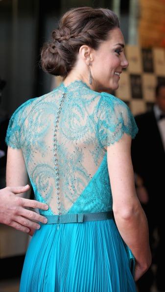 Acconciature con le trecce, Kate Middleton sfoggia un look romantico