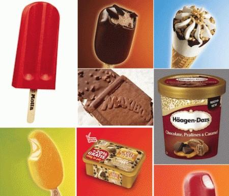 La tabella delle calorie dei gelati confezionati