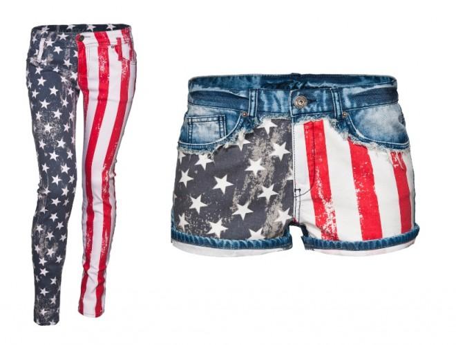 stelle strisce pantaloni