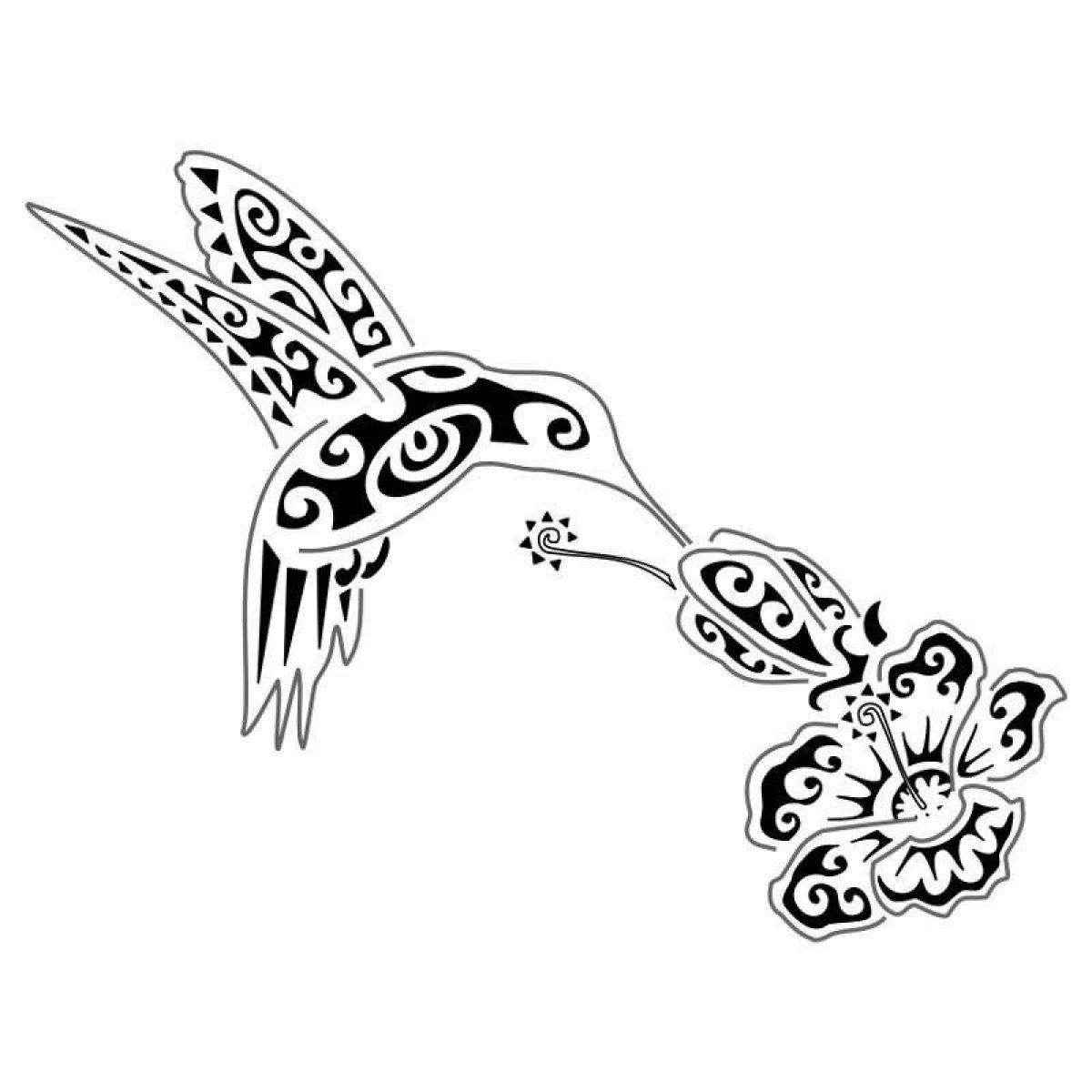 Colibri Tattoo Uomo tatuaggi tribali, significato e simboli dei disegni più
