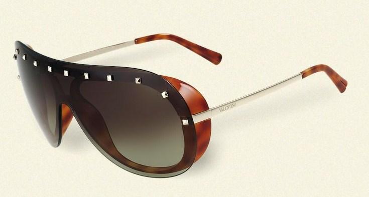 valentino occhiali rockstud avvolgenti