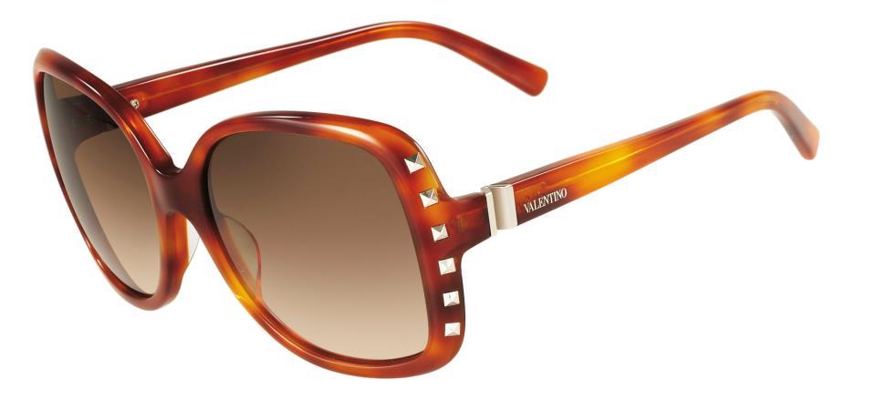 valentino occhiali rockstud oversize